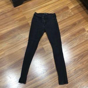 Abercrombie skinny black jeans